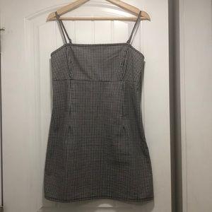 Checkered Dress From Garage
